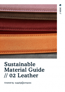 Sustainable Material Guide: Leather