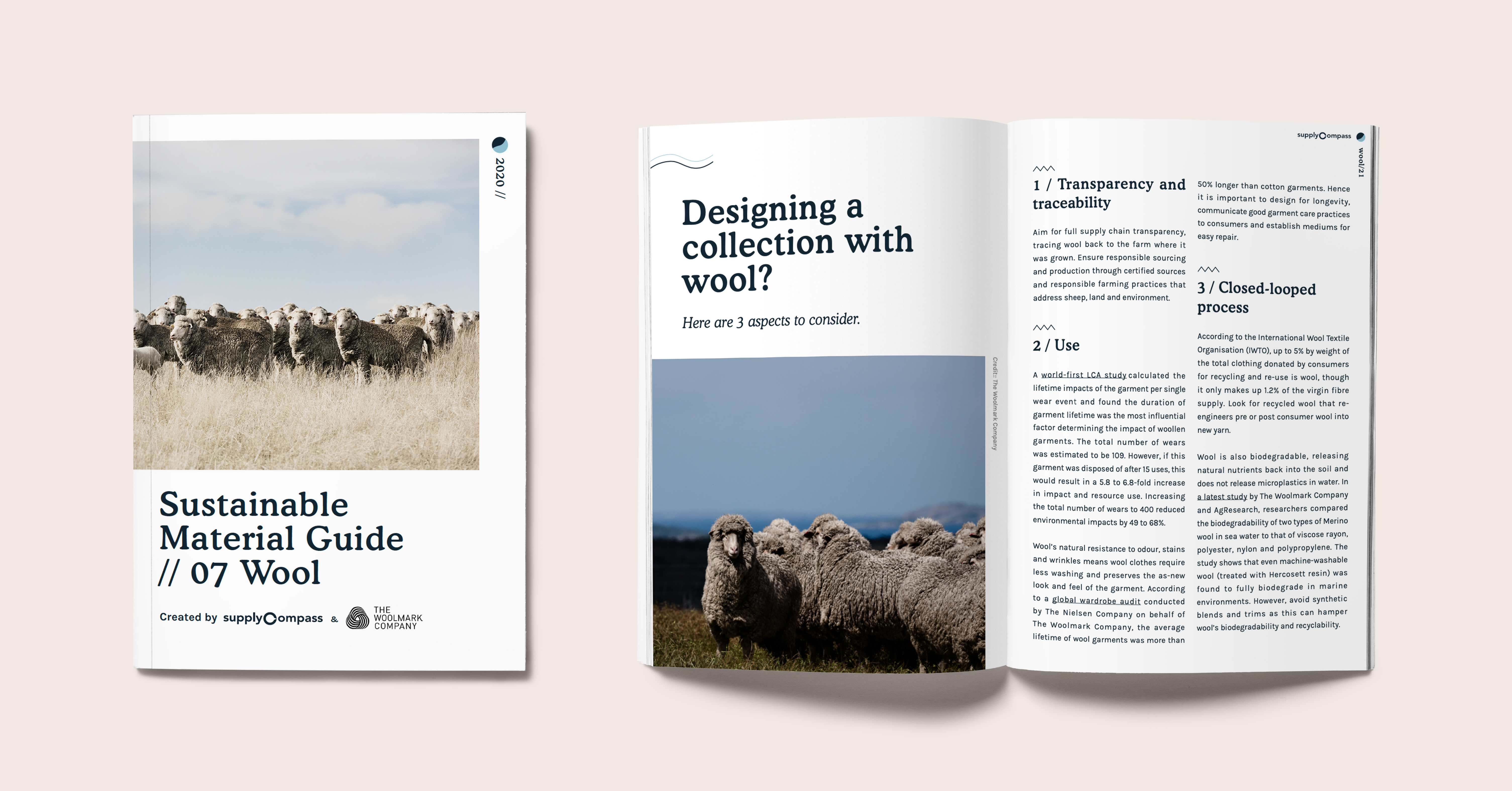 Sustainable Materials: Wool Guide by SupplyCompass and The Woolmark Company
