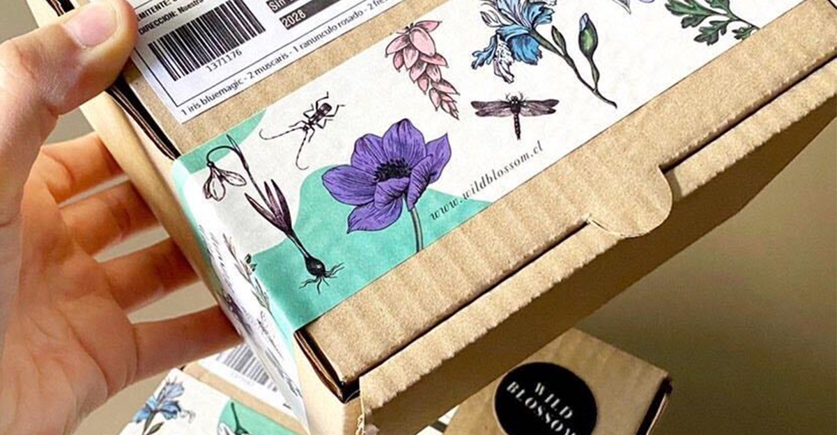 Sustainable Packaging in Fashion: noissue tape